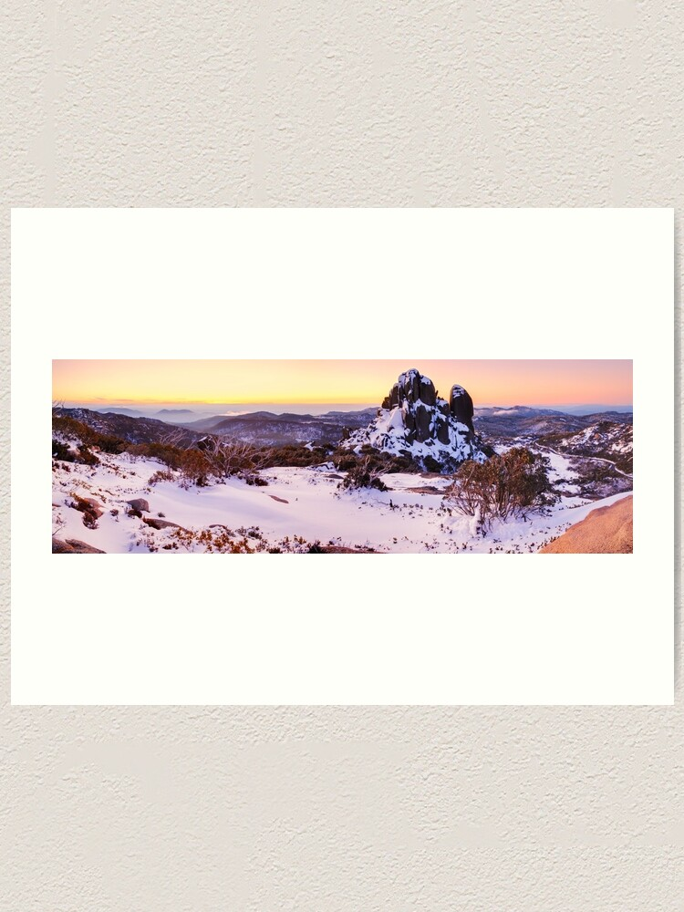 Alternate view of The Cathedral, Mt Buffalo, Victoria, Australia Art Print