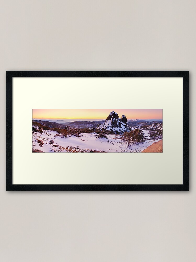 Alternate view of The Cathedral, Mt Buffalo, Victoria, Australia Framed Art Print