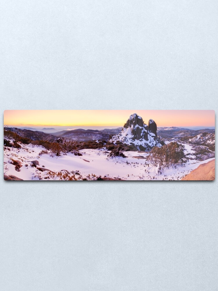 Alternate view of The Cathedral, Mt Buffalo, Victoria, Australia Metal Print