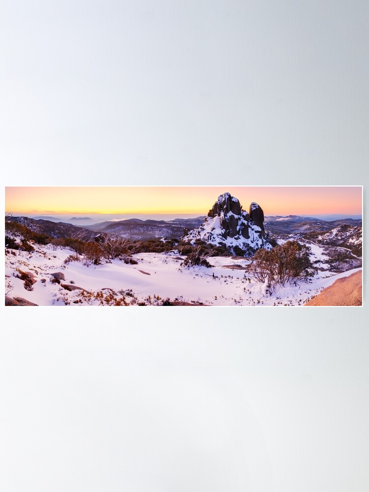 Alternate view of The Cathedral, Mt Buffalo, Victoria, Australia Poster