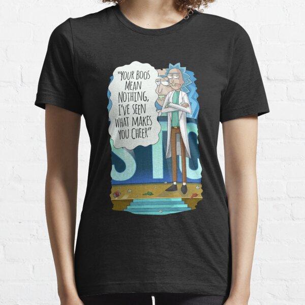 Stellen Sie sicher, dass Sie nur Personen einbeziehen, die wirklich Jubel verdienen. Essential T-Shirt