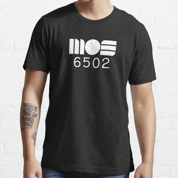 MOS 6502 8-bit CPU White logo Essential T-Shirt