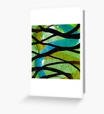 Fused Glass Greeting Card