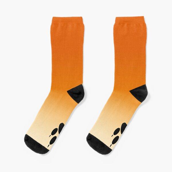Red Fox Cute and Funny Animal Paw Socks  Socks