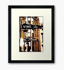 Vine Street - Downtown Cincinnati Framed Print