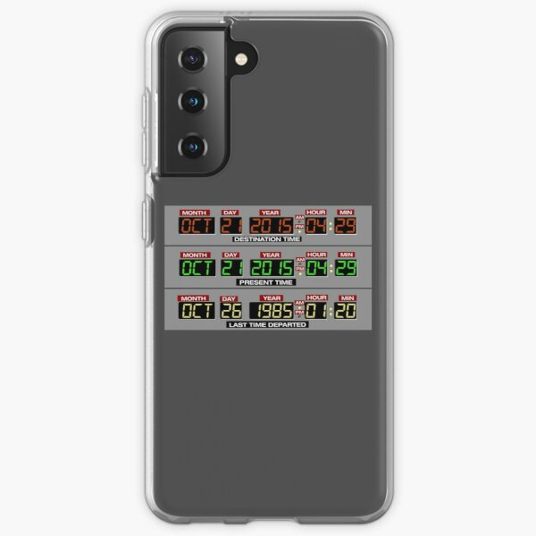 Back to the Future 2 Time Circuits 2015 Samsung Galaxy Soft Case
