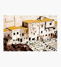 Working the Tanneries Photographic Print
