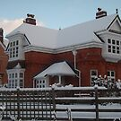 The Old Gate House - Winter Snow by Hucksty