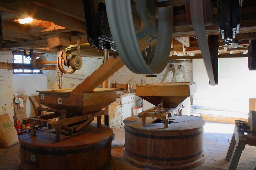 Burcott Mill, Somerset by Dave Godden