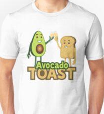Avocado Toast Emoji JoyPixels Superfood Avocado Sprichwort Slim Fit T-Shirt