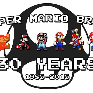 Super Mario Bros. 30th Anniversary by dapokemansmasta