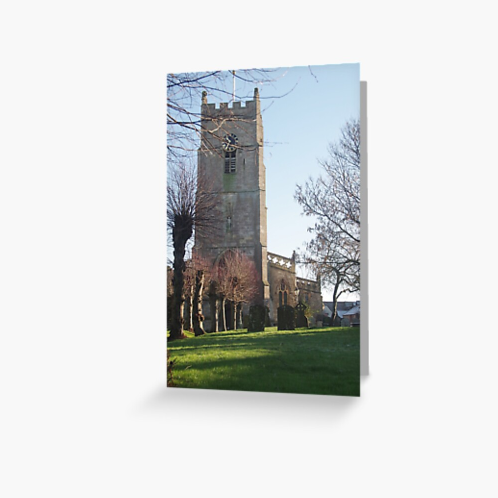The Parish Church Of St.Michael And All Angels, Highworth Greeting Card