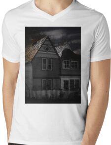 Moonlit Mens V-Neck T-Shirt