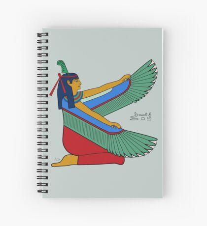 MAAT I Göttin Ägypten Spiralblock
