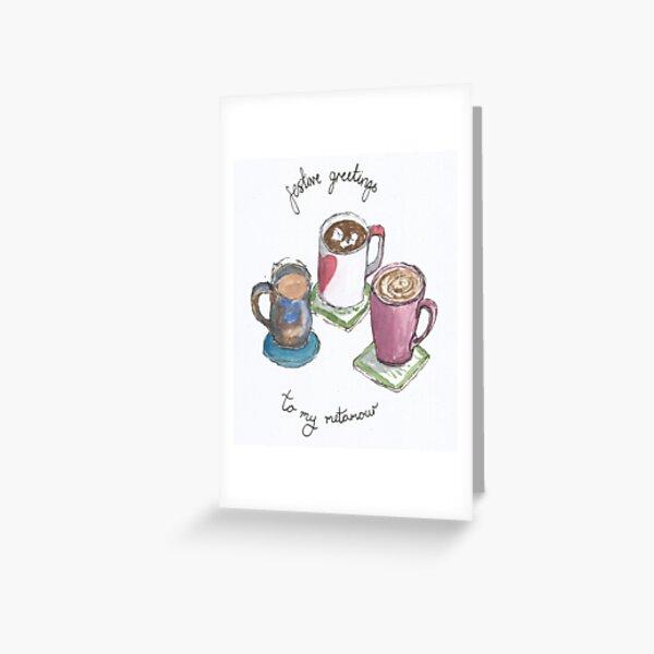 Mugs for Metamours Greeting Card