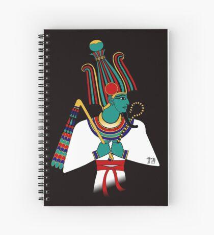 OSIRIS I Ägypten Gottheit Spiralblock