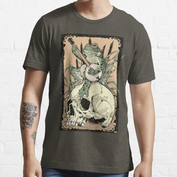 Victorian Frog Playing Banjo Essential T-Shirt
