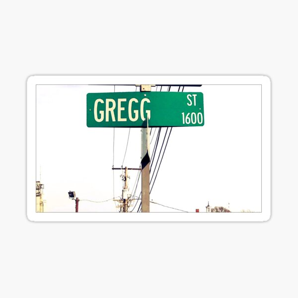 Gregg  Sticker
