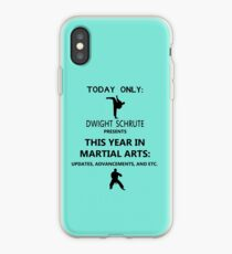 This Year in Martial Arts iPhone Case