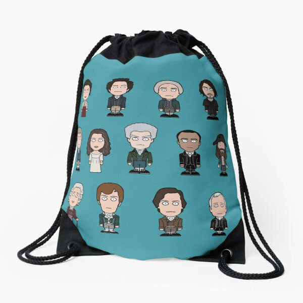 The Friends of English Magic Drawstring Bag