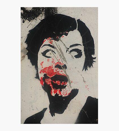 Glasgow graffiti Photographic Print