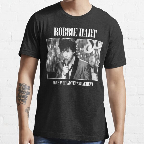 The Wedding Singer: I Live In My Sister's Basement - Robbie Hart Essential T-Shirt