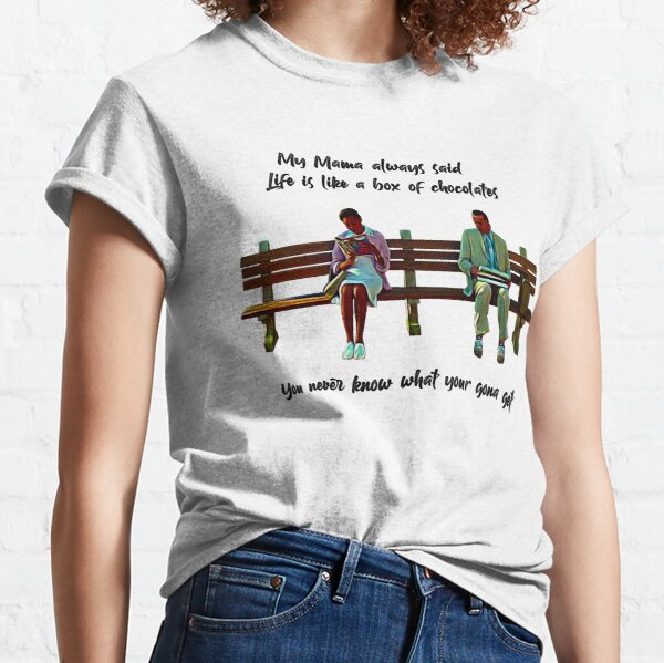 Forrest Gump Life is Like A Box Of Chocolates Classic T-Shirt
