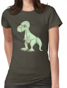 Plushie Rex Womens Fitted T-Shirt