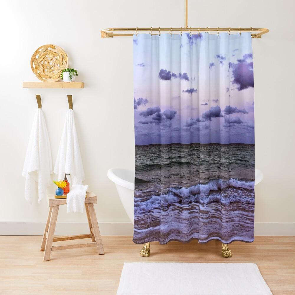 Quiet Moon Shower Curtain