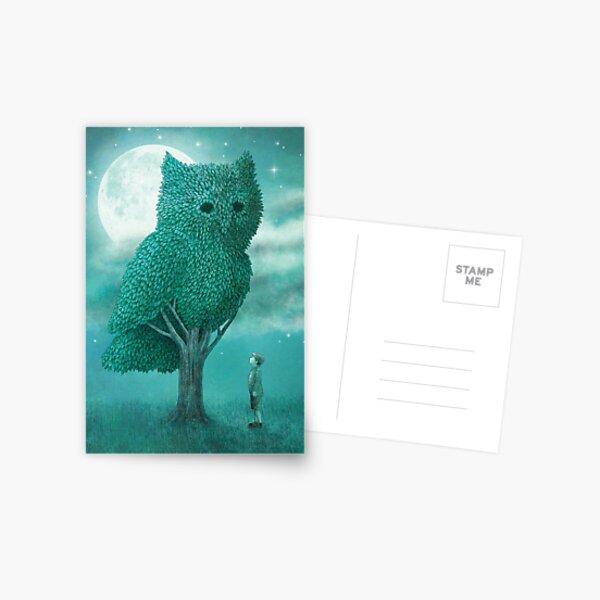 Der Nachtgärtner - Cover Postkarte