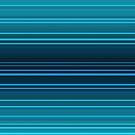 Abstract blue and green horizontal lines by cesarpadilla