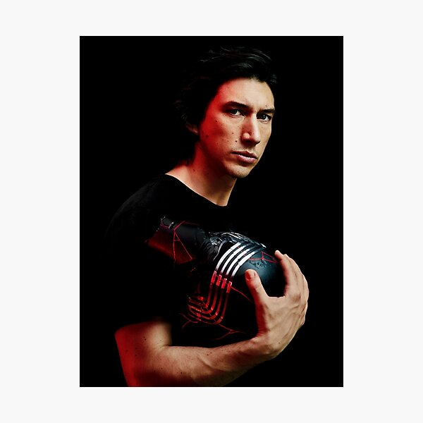 Cover of Rolling Stone Adam Driver December 2019 Photographic Print