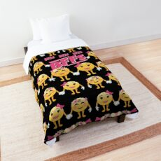 BFFs Emoji JoyPixels Best Friends Love Comforter