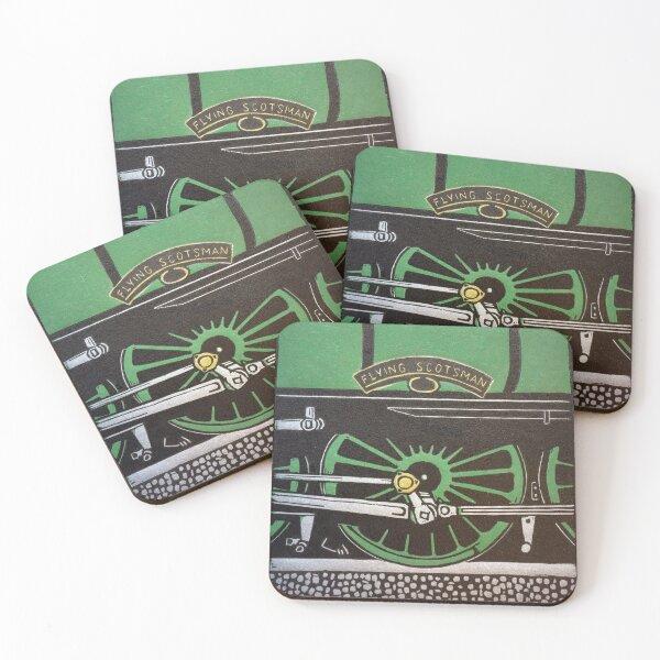 Flying Scotsman Coasters (Set of 4)