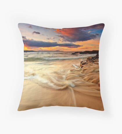 Southarm sunrise  Throw Pillow