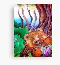 Fruit Bear Canvas Print