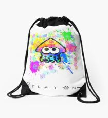 Splatoon Drawstring Bag