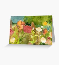 Flower Terrain Greeting Card