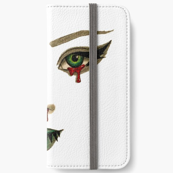 Green Eyed Lady iPhone Wallet