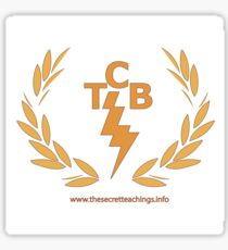 Mike D.'s Taking Care of Business (TCB) Sticker