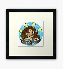 Brightest Witch Framed Print
