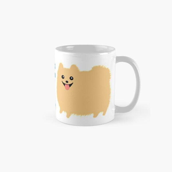 My BFF is a Poof Ball Pomeranian Classic Mug