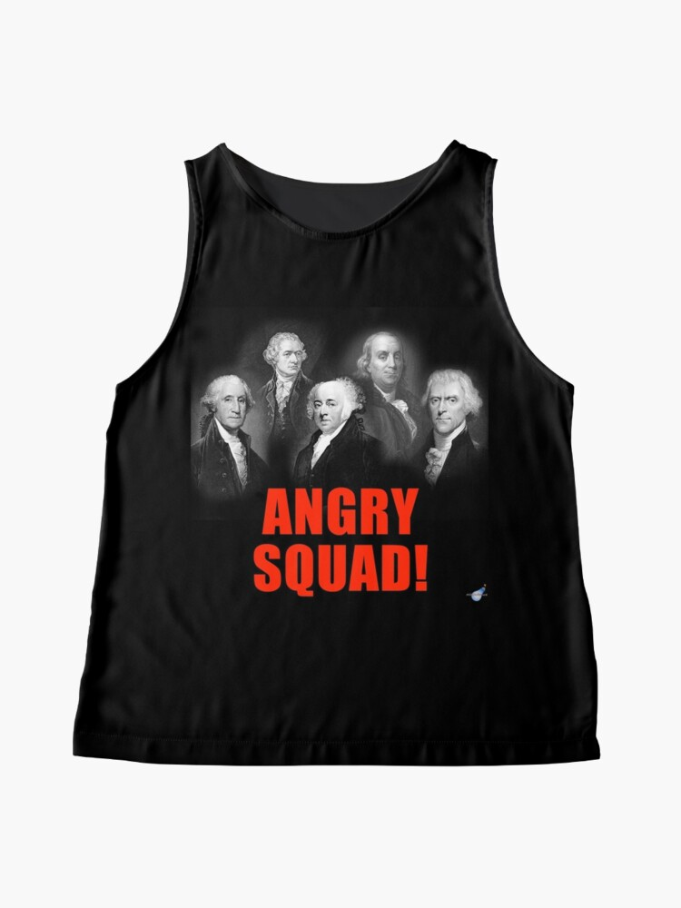 Alternate view of Angry Squad!  Sleeveless Top