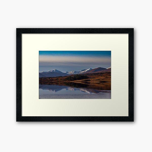 Reflections on Rannoch Moor, Scotland Framed Art Print