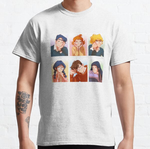 The Kiss Bet Character Portraits Classic T-Shirt