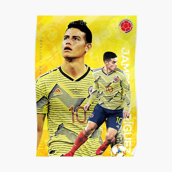 James Rodriguez - Colombia Poster