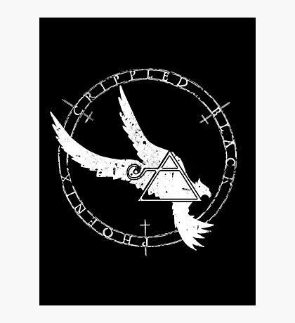 Crippled Black Phoenix 2015 A.D. (White V.1) Photographic Print