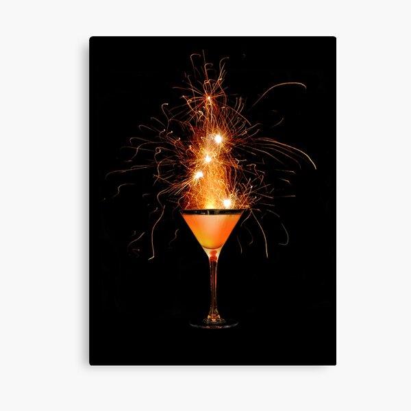 Firewater Canvas Print