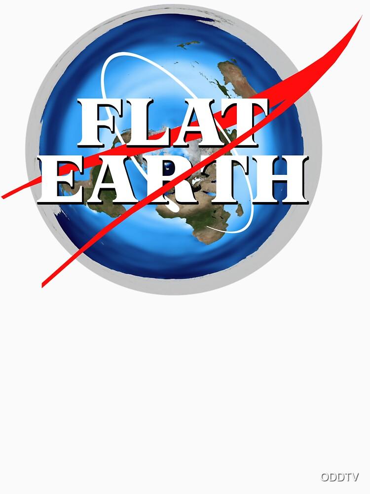 Flat Earth NASA Logo by ODDTV
