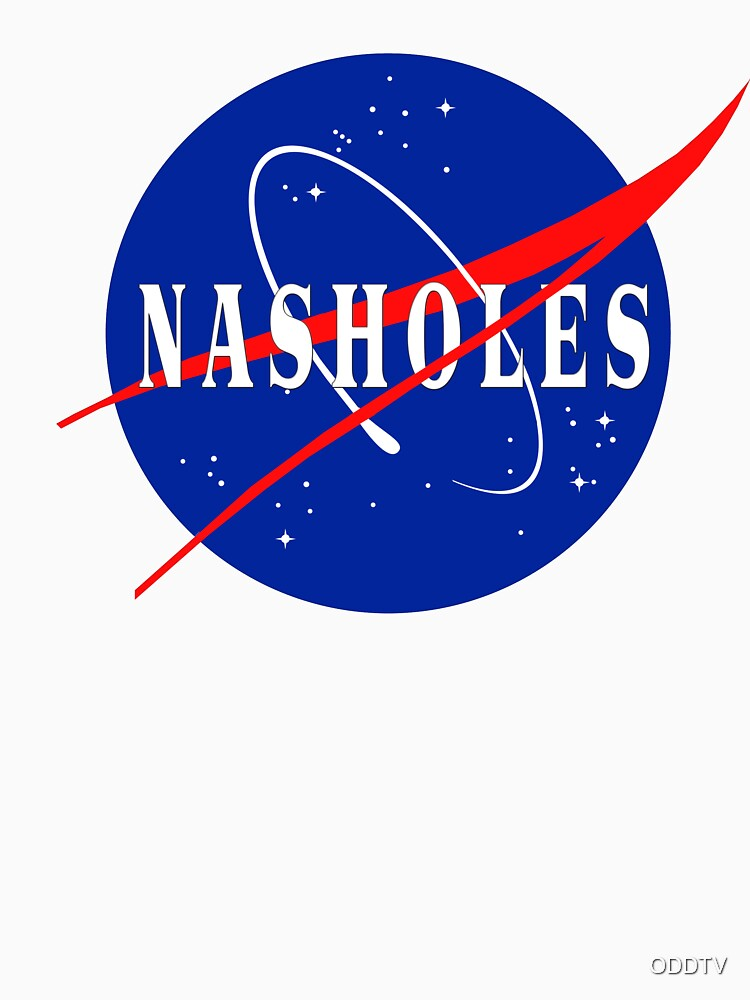 Nasholes NASA Logo by ODDTV